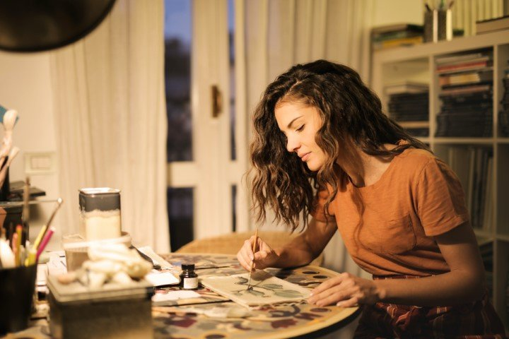Creatieve vrouwen hobby