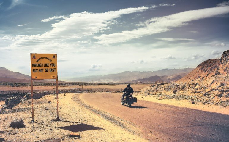 Leren motorrijden