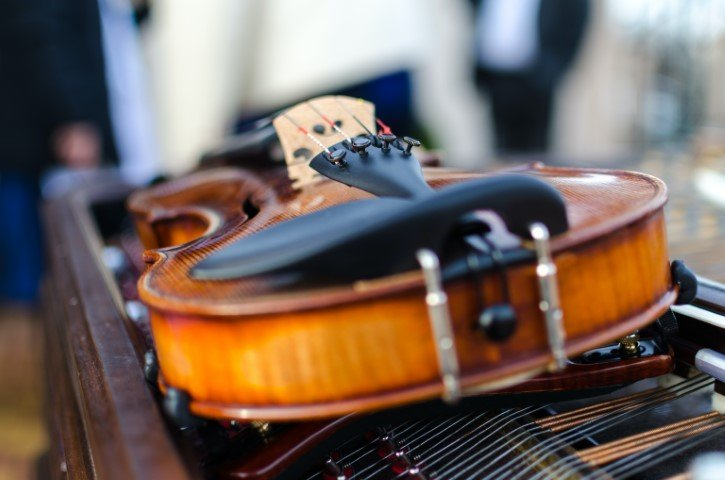 Muziek instrument bespelen