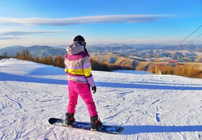 Snowboard dame