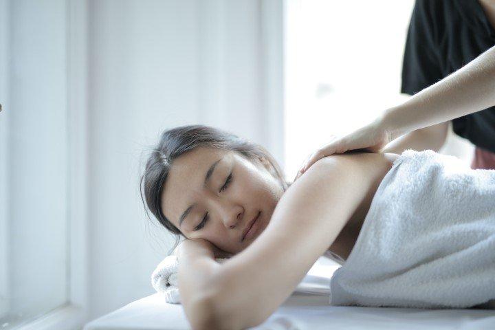 ontspannings massage vrouw